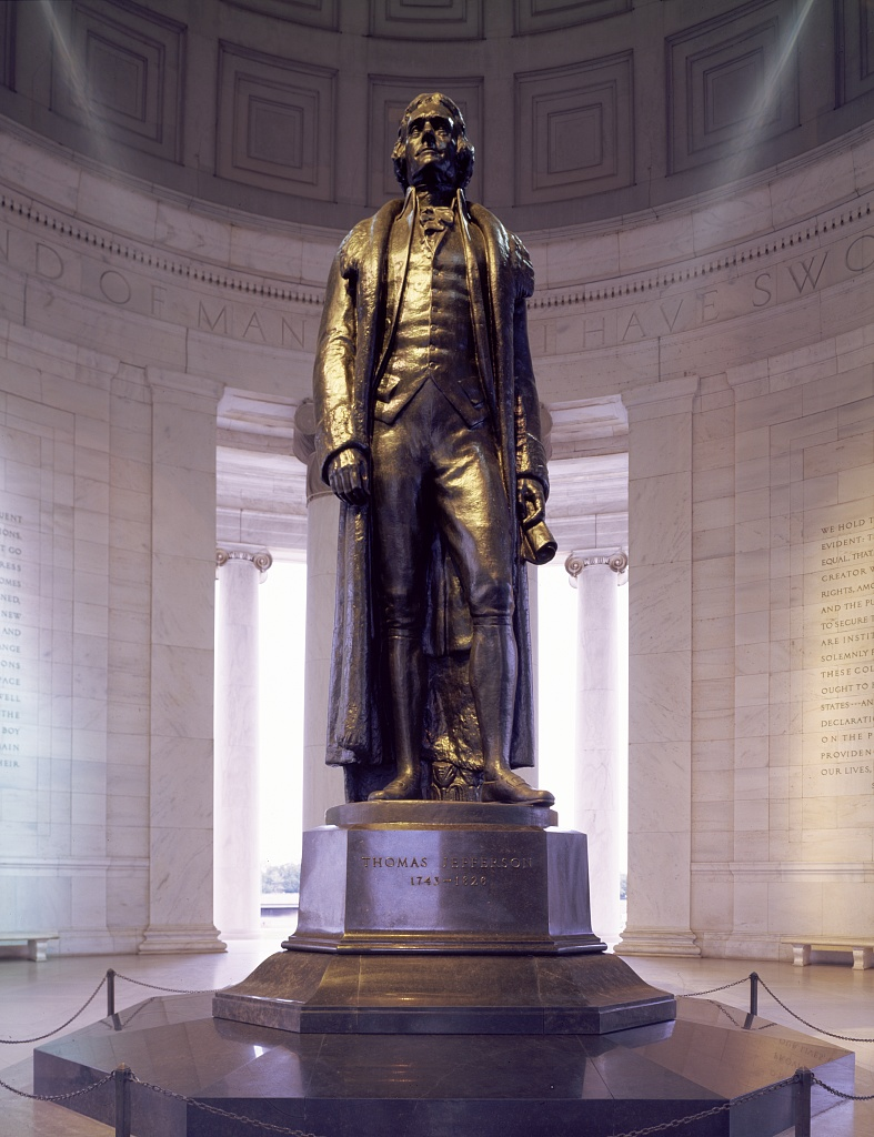 3 fun facts about the jefferson memorial bike and roll dc for Facts about the monument